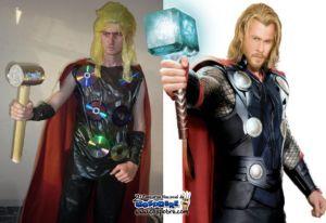 Thor O magnífico, usando Loreal